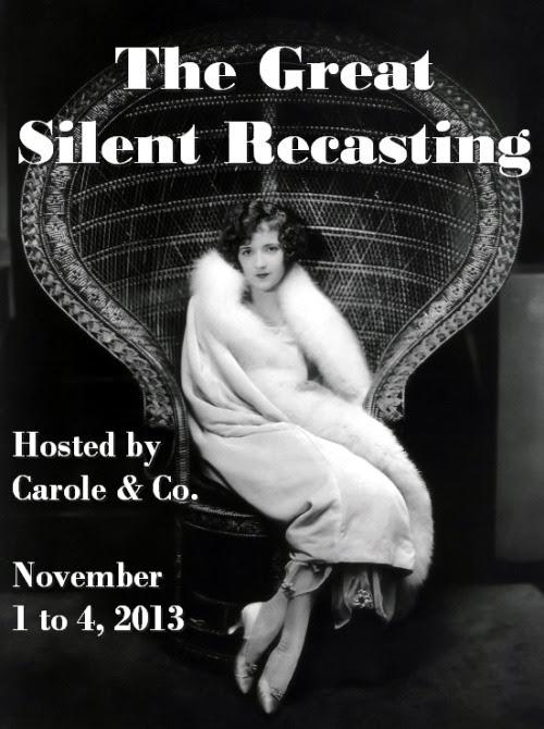 The Great Silent Recasting Nov. 1-4