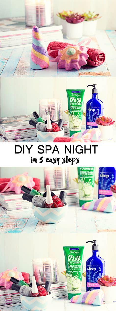 diy spa night   pinterest diy spa day spa night