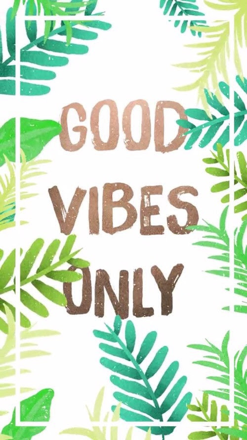 Get Good Vibes Quote Wallpaper Images