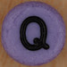 Bead Letter Q