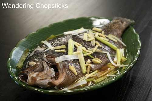 Ca Hap Gung Hanh (Vietnamese Steamed Fish with Ginger and Scallions) 2