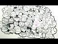 Speed drawing kawaii food | Inktober day 7 | Lizi Li