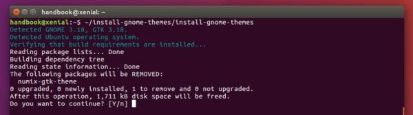 Want to change the boring default Ubuntu desktop themes? Well, there's a script allows to easily install a list of the latest version of nice GTK themes.