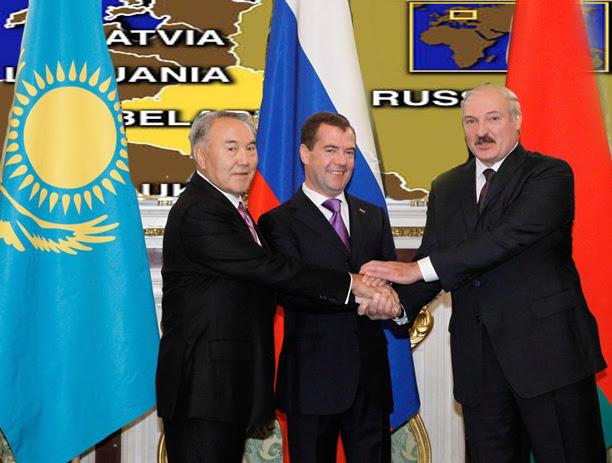 """Και εγένετο """"Ευρασιατική Ένωση""""! - Ρωσία, Λευκορωσία & Καζακστάν """"γίνονται ένα"""""""