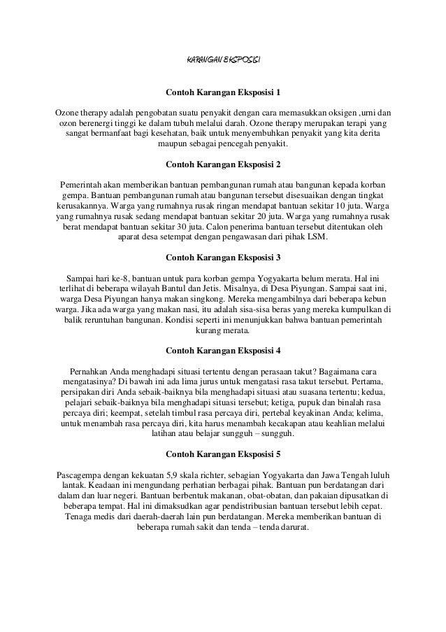 Contoh Paragraf Eksposisi Gempa Bumi Druckerzubehr 77 Blog