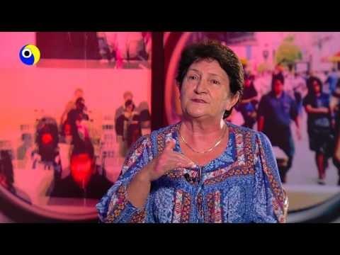 Professora Leocádia é a personalidade da TV Pantanal na semana da mulher