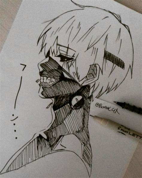 anime sketches clean images  pinterest