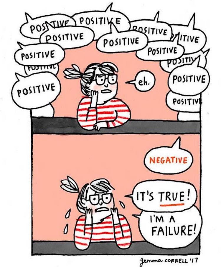 Charmingly Relatable Mental Health Comics Destigmatize ...