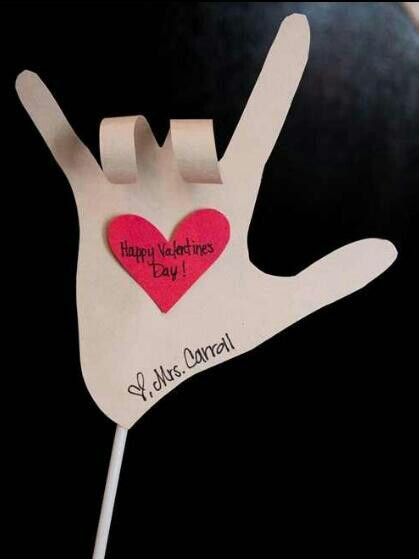 Cute Valentines day craft