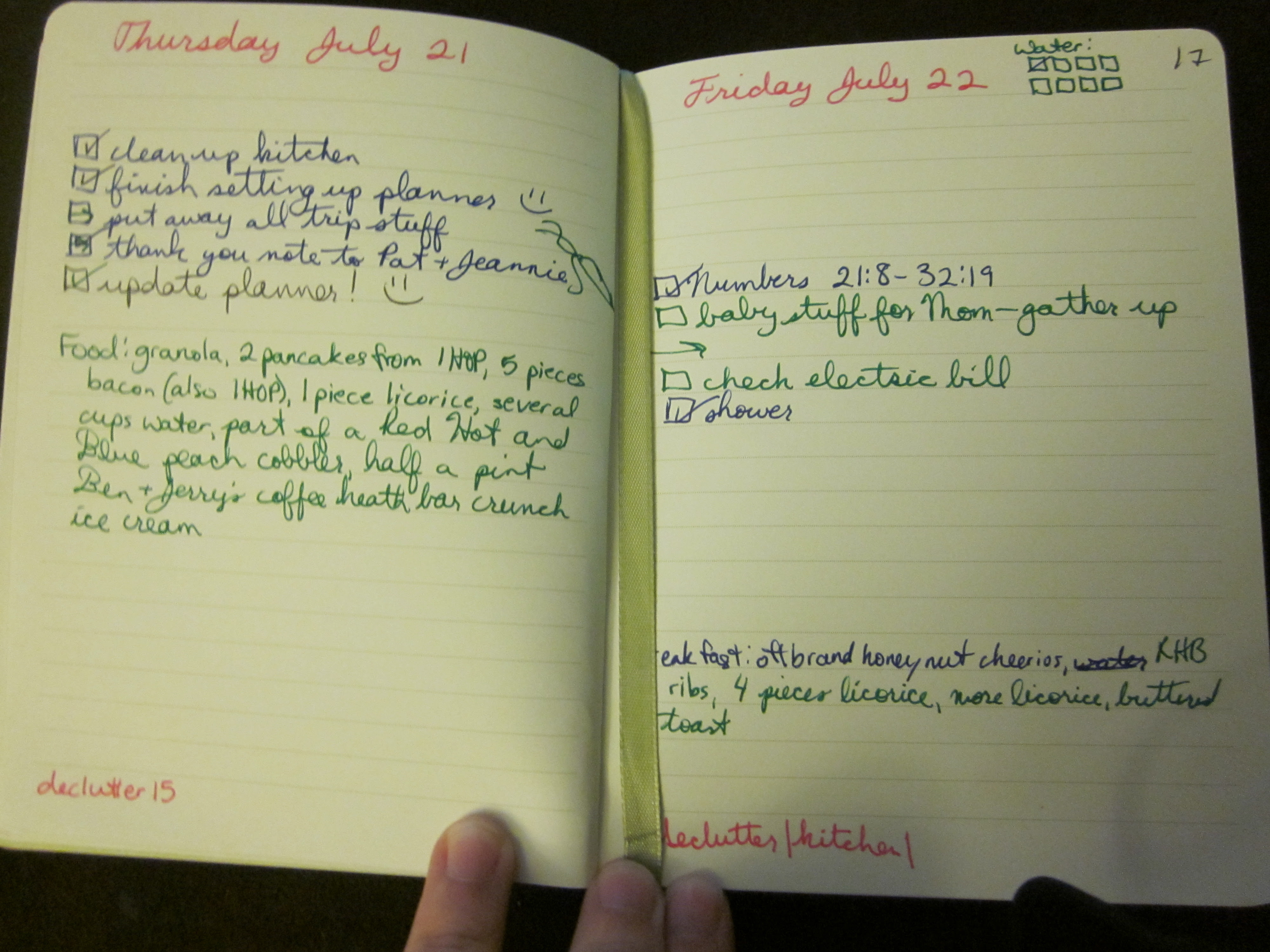 My DIY planner, which I may end up not using   Bluebonnet Reads