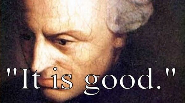 Last words by Immanuel Kant