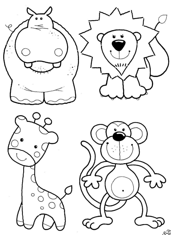 Dibujos Para Colorear Animales Terrestres Animales Para Colorear