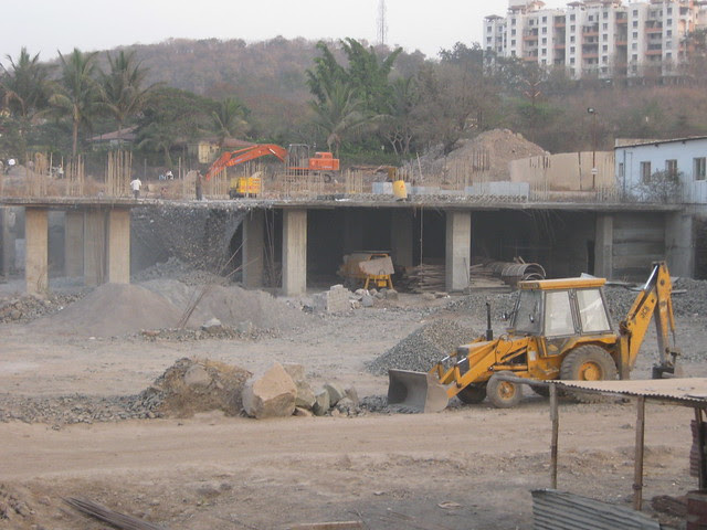 Demolition of Lohia Jain Group's IT Park & Athashri Bavdhan - Riddhi Siddhi, 2 BHK & 3 BHK Flats at Bavdhan Khurd, Pune 411 021