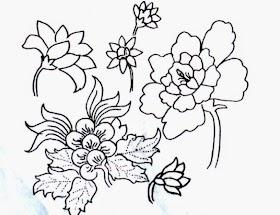 Gambar Sketsa Batik Fauna