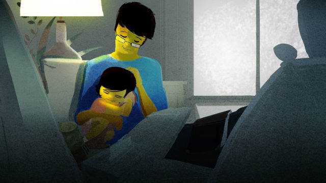 Life's Magical Moments Captured in Cartoon Art