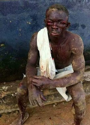 See What Soldiers Did to Residents of a Community Where a Military Commander was Killed (Photos)