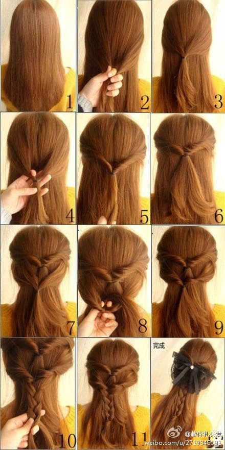 Best Image of Cute Easy Hairstyles | James Fountain