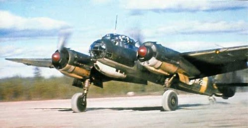 DMP-D693 FINNISH JU-88 in summer 1943