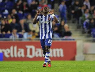 Espanyol Midfielder Mubarak Wakaso Dreams Of Everton Premier League Move Football News Espn Co Uk