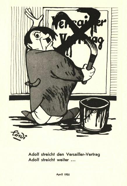 1935-Adolf streicht den Versailler Vertrag