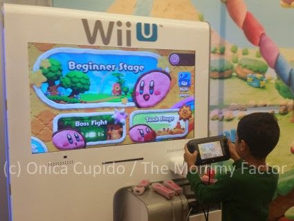 Nintendo Kirby and the Rainbow Curse on Wii U Launch Event