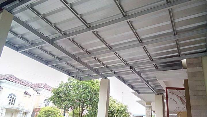 Canopy Spandek di Acasia Garden Baja Ringan Cikarang
