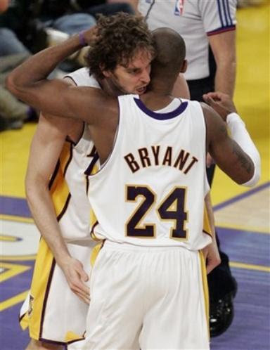 Pau and Kobe