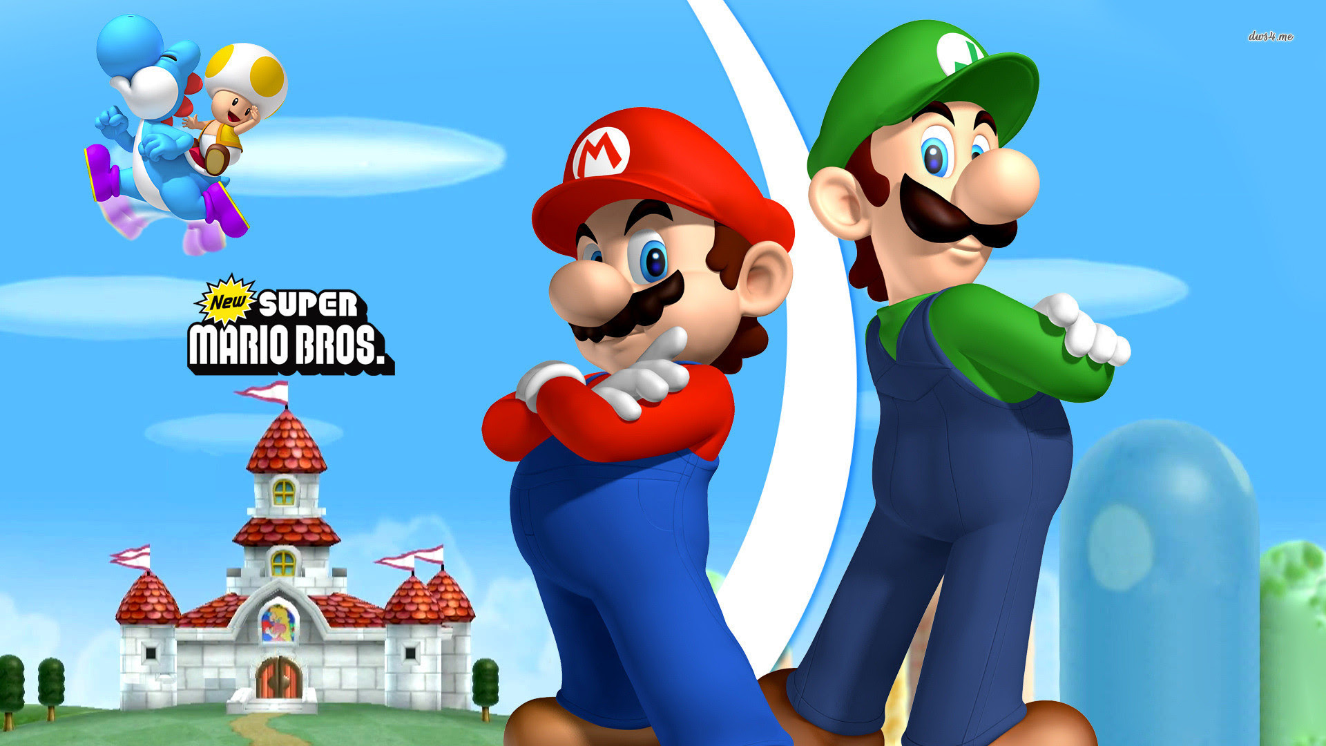 Mario And Luigi Wallpaper Hd 64 Images