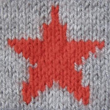 Knitting A Star Pattern | Knit & Knot