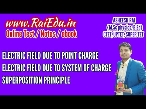 CLASS-12 ELECTRIC FIELD AND ITS PROPERTIES