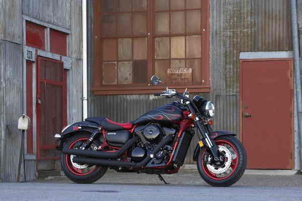Kawasaki Vulcan 1600b Mean Streak 1600b Specs Cruiser