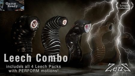 Animation7 com ng: iCLONE PACKS- Leech Combo