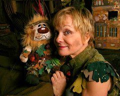 Cathy and Fluffy Rigby