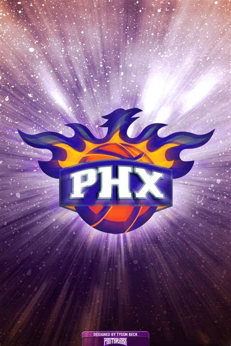 phoenix suns logo wallpaper posterizes nba wallpapers