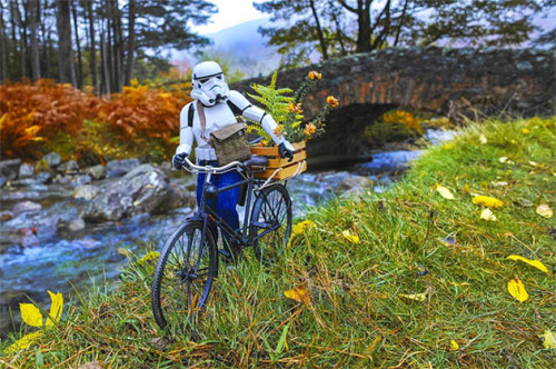 The Daily Life of a Miniature Stormtrooper Darryll Jones