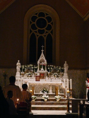 Easter Vigil and Candals