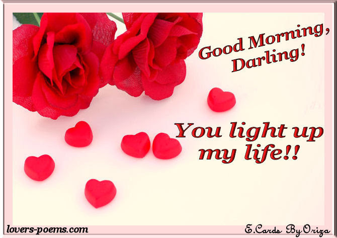 Good Morning Darling Pictures Photos And Images For Facebook