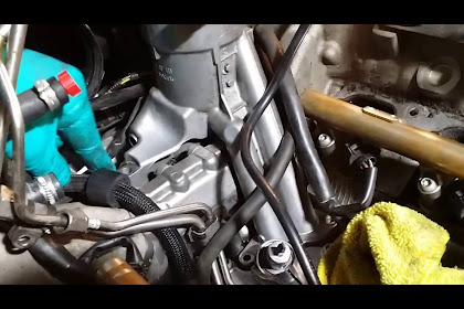 2007 Audi A4 Oil Filter Housing Removal