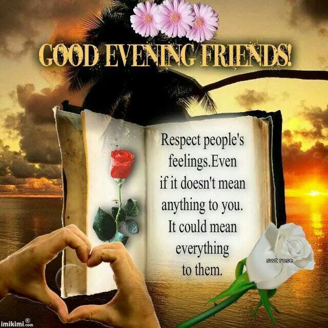 Good Evening Friends Pictures Photos And Images For Facebook
