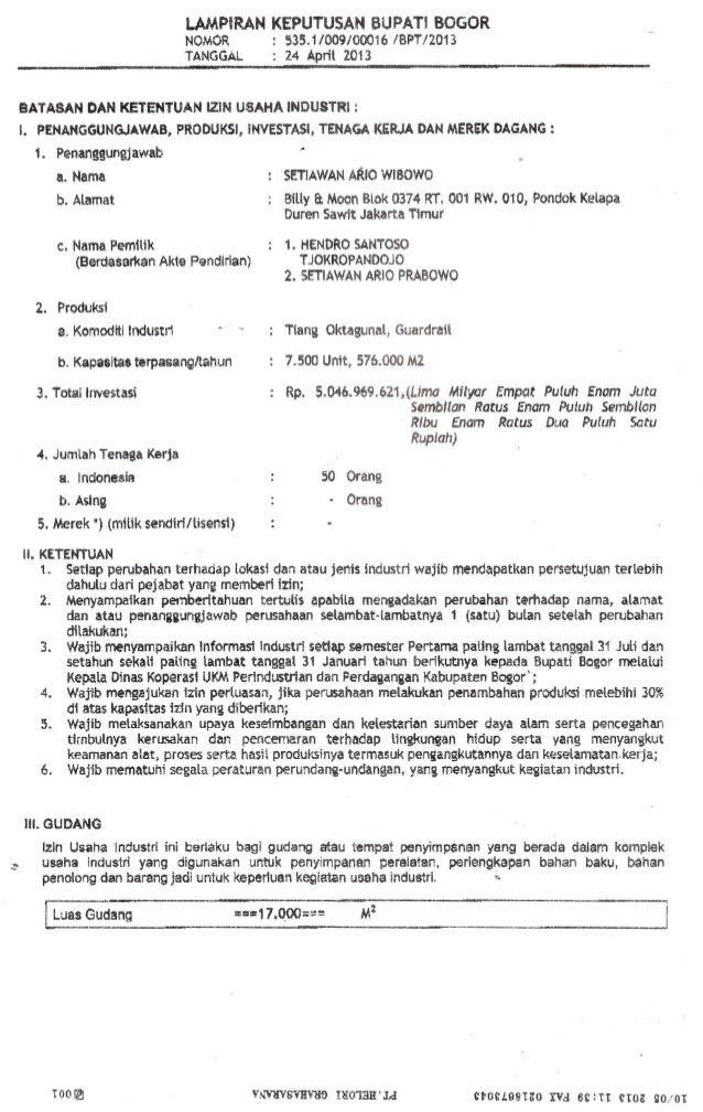 contoh surat izin yayasan surat 10