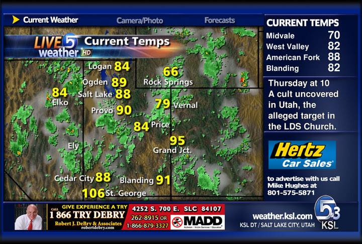 KSL Live 5 Weather Channel on 5.3 | KSL.com