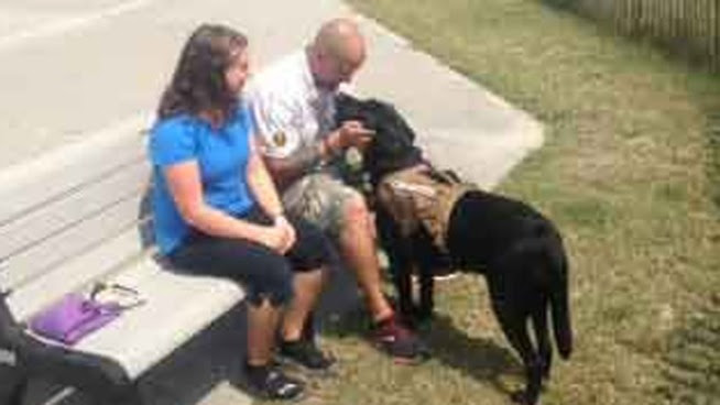 Veteran Kicked Off Boardwalk Because of Service Dog