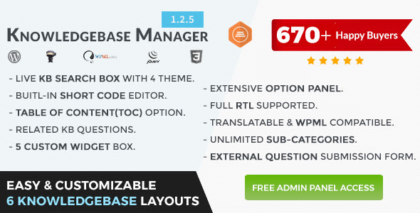 BWL Knowledge Base Manager v1.2.5