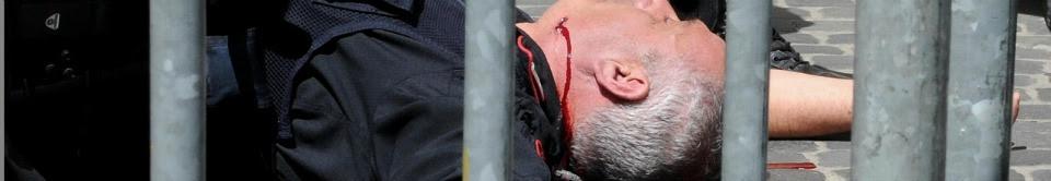 Palazzo Chigi, spari contro carabinieri Due sono feriti. Fermato l'attentatore