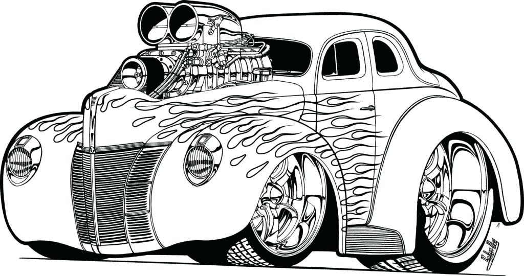 550 Vintage Car Coloring Pages For Free