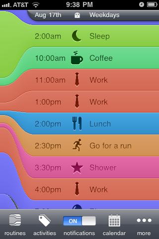 Daily Schedule App
