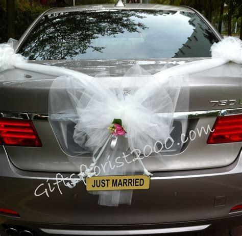 Fresh Flowers Wedding Car Decoration  Wedding Car Decor