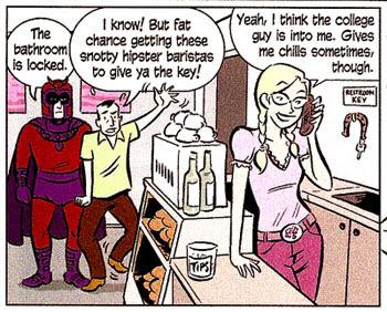 X-Men: First Class Special #1 panel