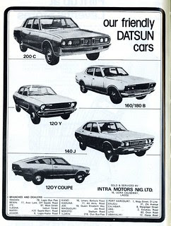 Guide to Lagos 1975 049 datsun cars crop