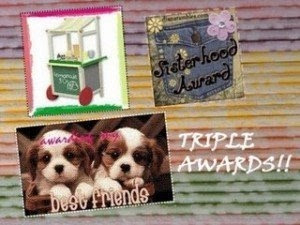 image of the triple awards